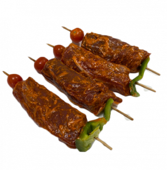 Brochettes de canard miel / figues x 4
