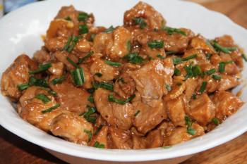 Emincé de porc à la chinoise
