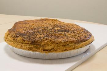 Tourte jambon / champignons